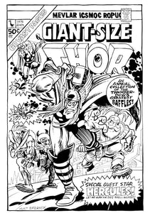 GIANT SIZE THOR cover spoof