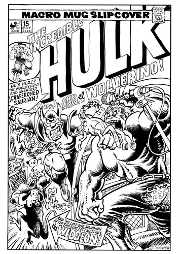 HULK & WOLVERINE spoof cover.