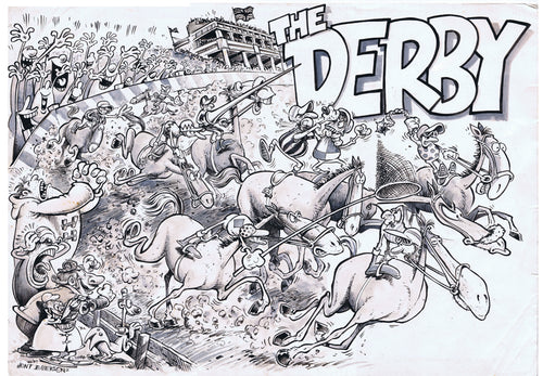 DRAWINGS OF THE TURF - The Derby