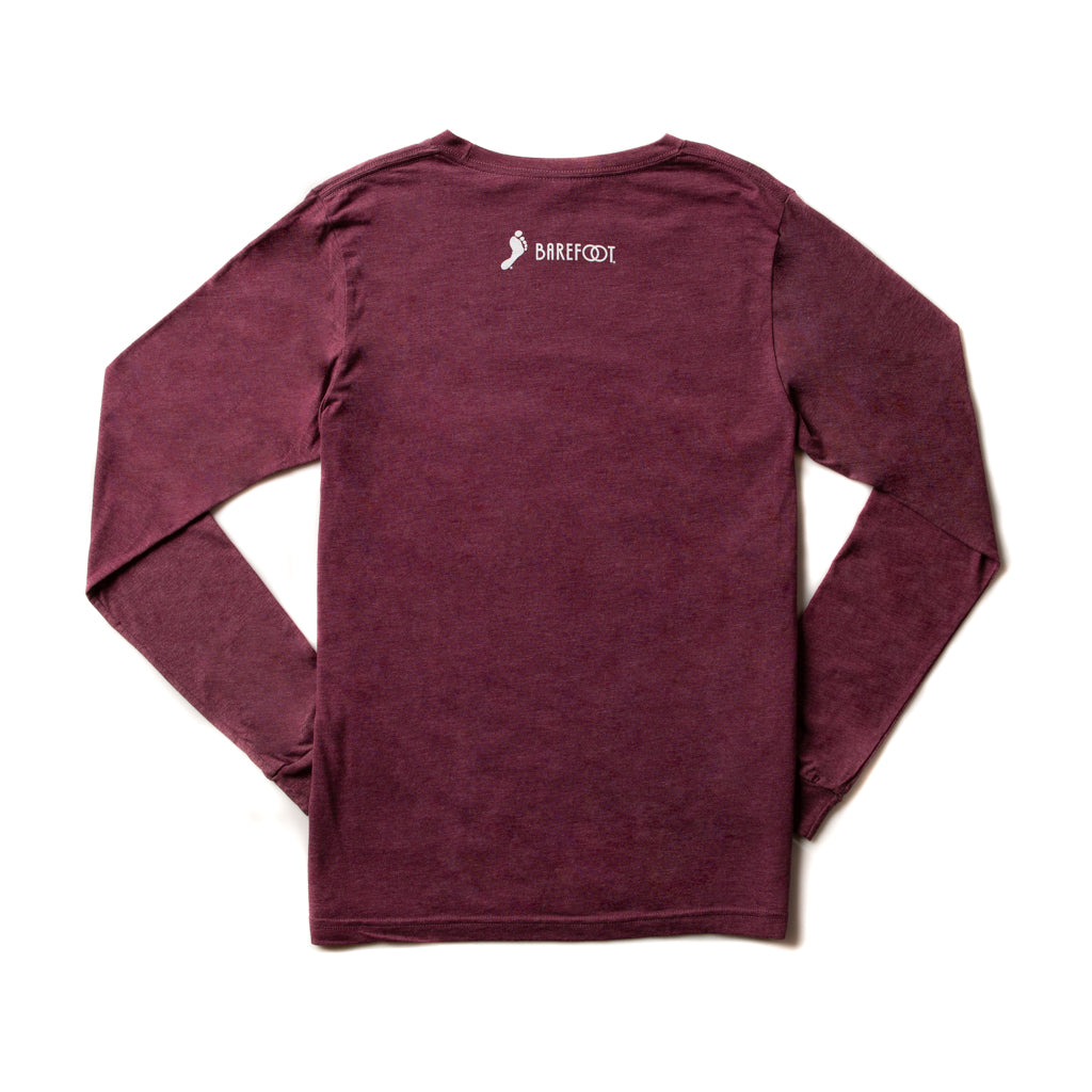 Pets Plus Wine Long-sleeve Tee