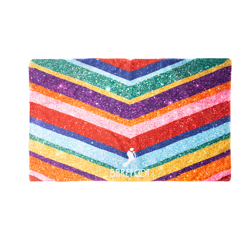 Rainbow Sparkle Effect Wearable Flag
