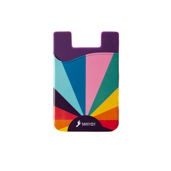 Rainbow-To-Go Sticky Phone Wallet