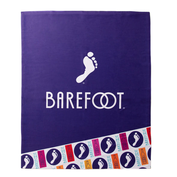 Barefoot Sublimated Sweatshirt Blanket