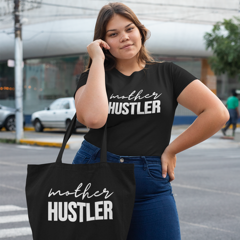 Mother Hustler Gift Set - Tee & Tote $32.99 (Automatic discount applied at checkout.)