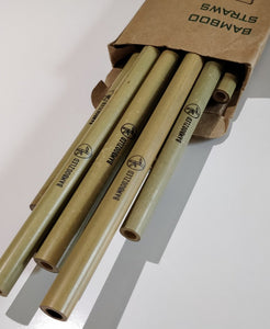 Bamboo Straw Set (10 Pce)