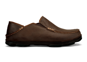 Men's Moloa Leather Slip-On Shoes - Idaho Mountain Touring