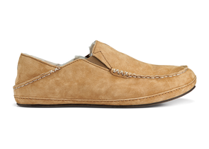 Men's Moloa Nubuck Leather Slippers