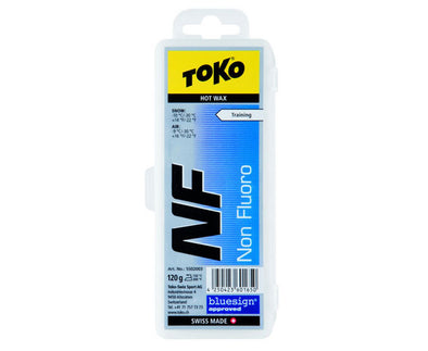 Toko NF Hot Wax Blue - 120g - Idaho Mountain Touring