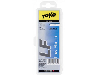 Toko LF Hot Wax Blue 120g - Idaho Mountain Touring