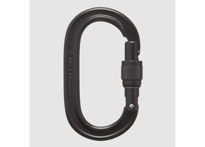 Oval Screwgate Carabiner - Idaho Mountain Touring