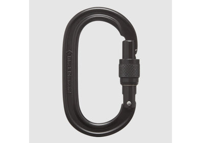 Oval Screwgate Carabiner