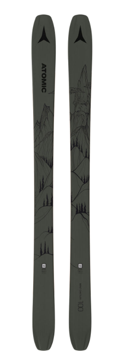 Atomic Bent Chetler 100 Freeride Ski - Idaho Mountain Touring