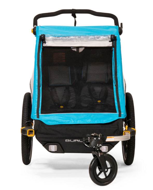 Burley D'Lite X Kids Bike Trailer - Idaho Mountain Touring
