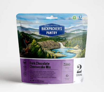 Dark Chocolate Cheesecake Mix - Idaho Mountain Touring