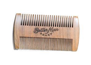 Better Man Beard Facial Beard Comb - Idaho Mountain Touring