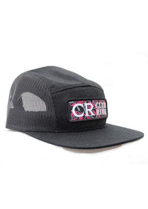 Club Ride Retro Chili Print 5-Panel Hat - Idaho Mountain Touring