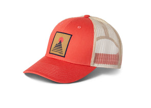 Square Mountain Trucker Hat - Idaho Mountain Touring