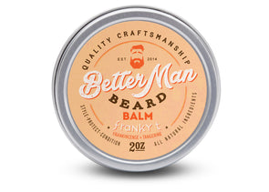 Better Man Beard Franky T Beard Facial Balm 2 oz. - Idaho Mountain Touring