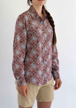 Club Ride Women's Gracie Long Sleeve Sun Shirt - Idaho Mountain Touring