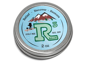 Better Man Beard R3 Muscle Pain Relief Balm 2 oz. - Idaho Mountain Touring