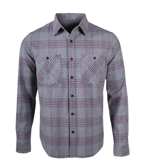 Men's Owen Flannel Shirt - Idaho Mountain Touring