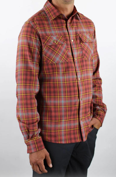 Men's Daniel Flannel - Idaho Mountain Touring