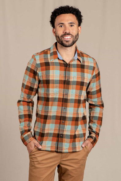 Men's Flannagan Slim Long Sleeve Shirt - Idaho Mountain Touring