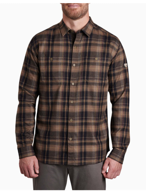Men's Fugitive Flannel Long Sleeve - Idaho Mountain Touring