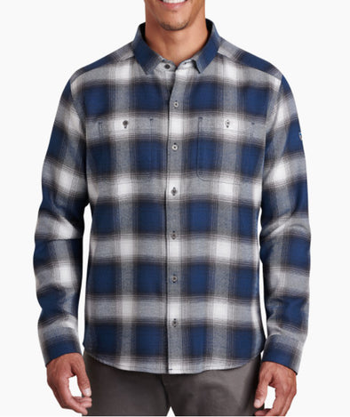 Men's Law Flannel Long Sleeve - Idaho Mountain Touring