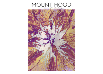 AA Topo Mount Hood Map - Idaho Mountain Touring