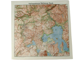 National Parks Topo Bandana - Idaho Mountain Touring