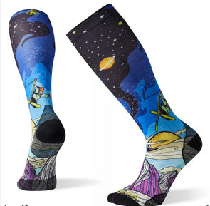Smartwool Men's Benchetler Print PhD Ultra Light Sock - Idaho Mountain Touring
