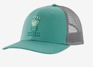 Protect Your Peaks Trucker Hat - Idaho Mountain Touring