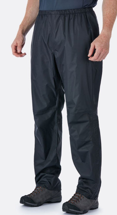 RAB Men's Downpour Pants Black - Idaho Mountain Touring