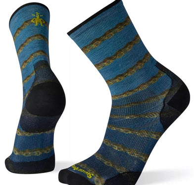 Smartwool Men's PhD Cycle Ultra Light Crew Sock - Idaho Mountain Touring