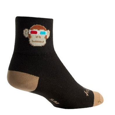 SockGuy Monkey See 3D Sock - Idaho Mountain Touring