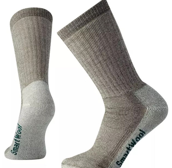 Women's Medium Striped Hiking Crew Socks - Idaho Mountain Touring