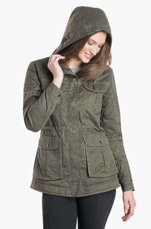 Women's Fleece Lined Luna Jacket - Idaho Mountain Touring
