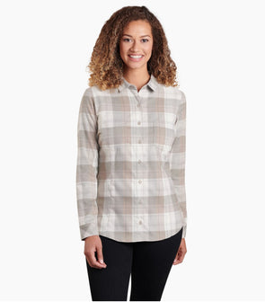 Kuhl Hanna Flannel - Idaho Mountain Touring