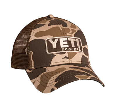 Yeti Coolers Trucker Hat with Patch Camo - Idaho Mountain Touring