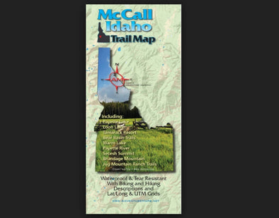 Adventure Maps Inc. McCall Trail Map - Idaho Mountain Touring