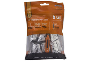 Adventure Medical Kits SOL All Weather Fire Cubes - Idaho Mountain Touring