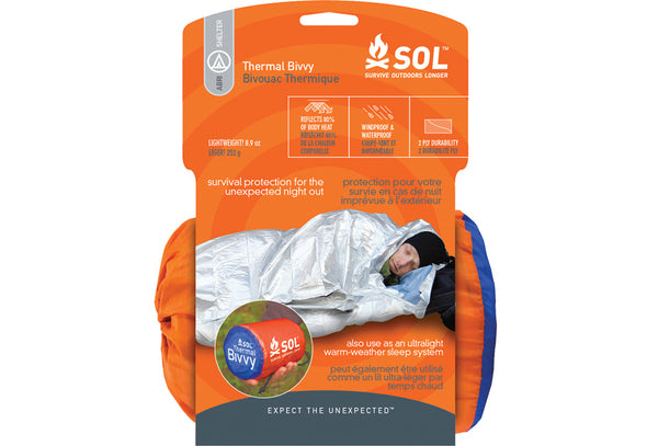 SOL Thermo Bivy Emergency Blanket