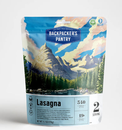 Backpacker's Pantry Vegetarian Lasagna - Idaho Mountain Touring