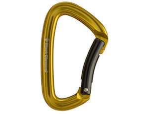 Black Diamond Positron Bent Carabiner - Idaho Mountain Touring