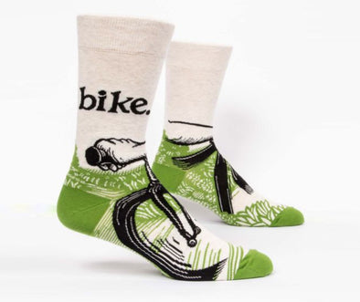 Men's Bike Path Crew Socks