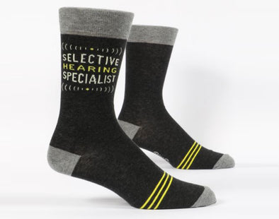 Men's Selective Hearing Crew Sock - Idaho Mountain Touring