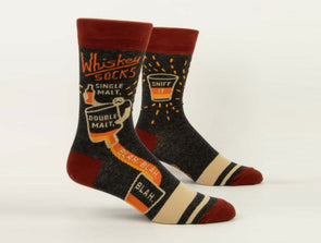 Men's Whiskey Crew Socks - Idaho Mountain Touring