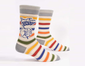 Men's Your Team Sucks Crew Socks