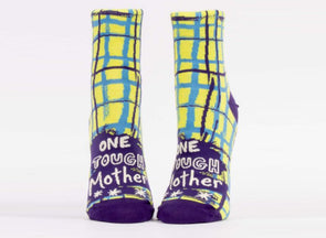 Blue Q Socks Women's One Tough Mother Ankle Socks - Idaho Mountain Touring